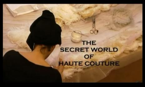 the secret of haute couture
